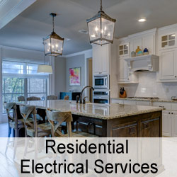 Residential electrical services. Electrician. Inspection